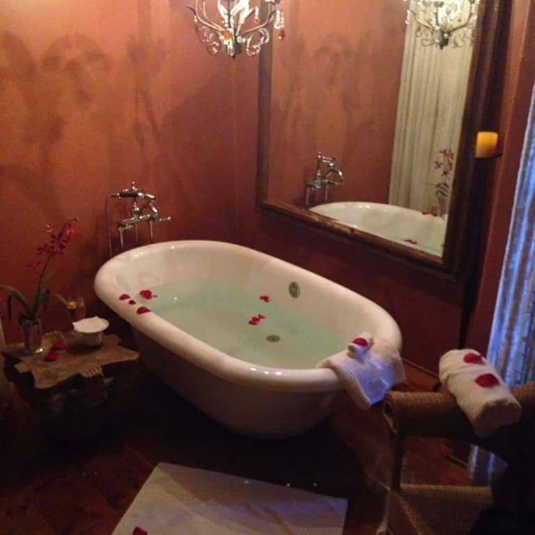 The Spa at Loretto Spa Suite with Kohler Claw-Foot Tub – via Spa Travel Gal