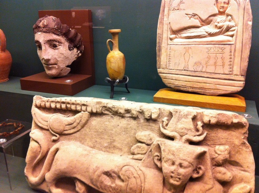 The Rosicrucian Egyptian Museum has more artifacts on display than anywhere else in the Western US.