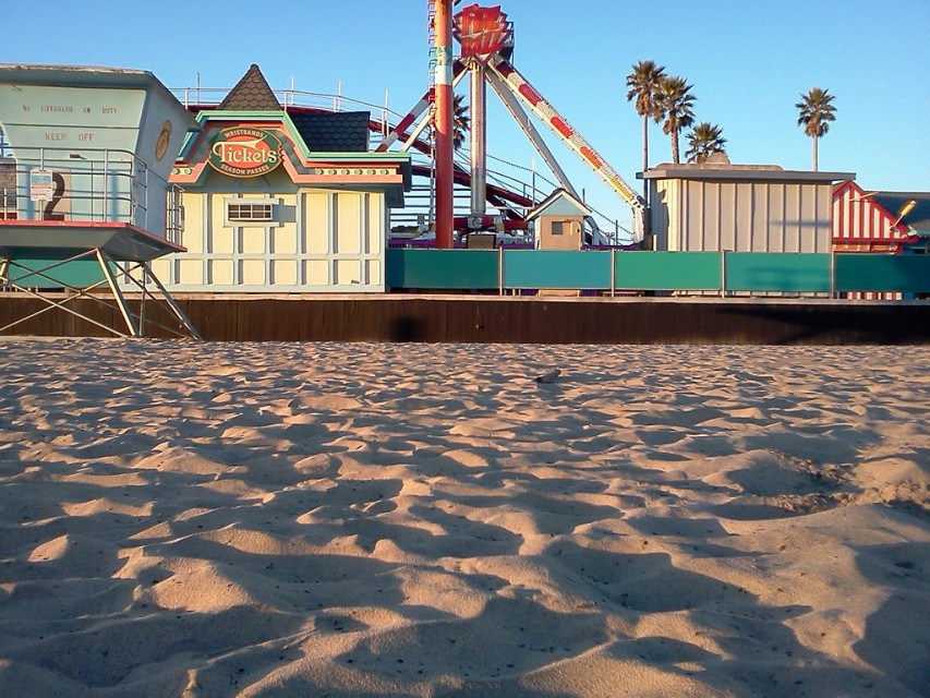 The Santa Cruz Beach Boardwalk is one of the oldest amusement parks in the US.