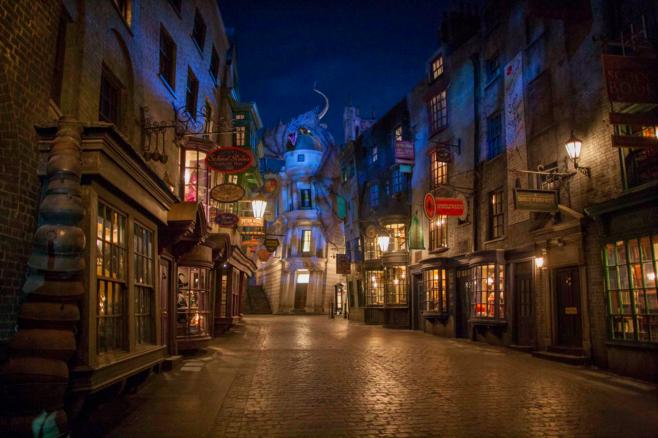 Diagon Alley - Wizarding World of Harry Potter - Universal Orlando Resort