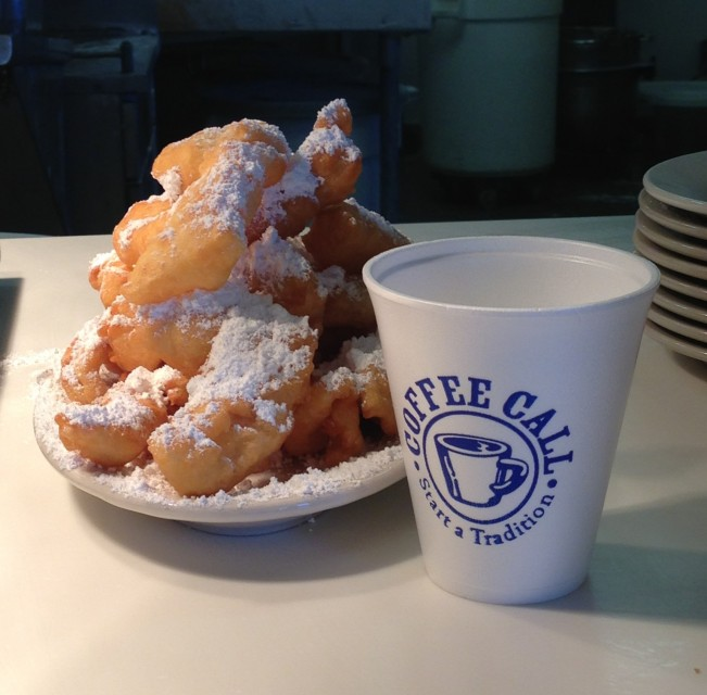Dining - Beignets at Coffee Call