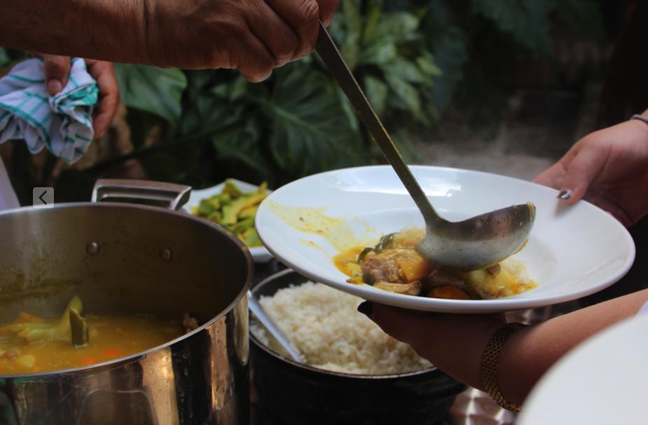 Local food found in the Colonial Zone, santo domingo, dominican republic
