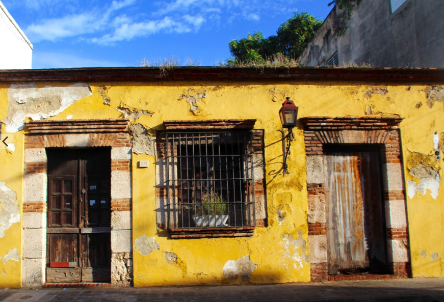street scene in Santo Domingo, Dominican Republic