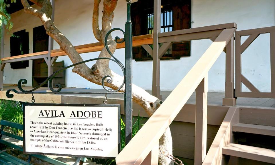 Avila Adobe in Los Angeles // Travelocity.com
