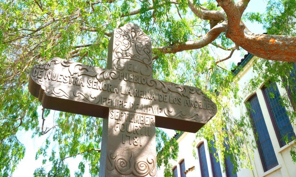 Los Angeles historical monument // Travelocity.com