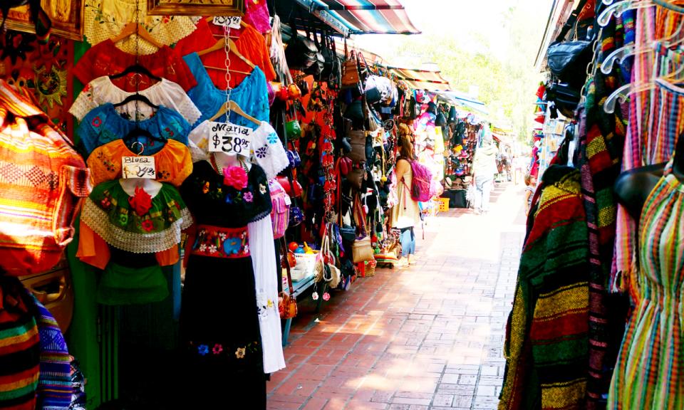 Olvera Street in Los Angeles // Travelocity.com