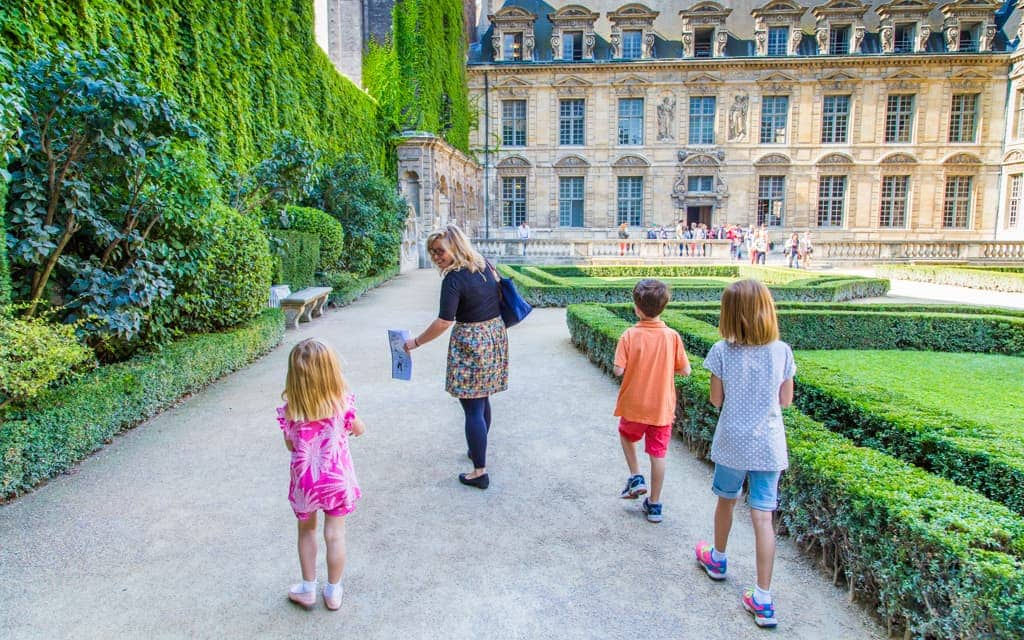 Tips for Travel to Europe - On a kid-oriented walking tour through Le Marais in Paris with Paris Muse