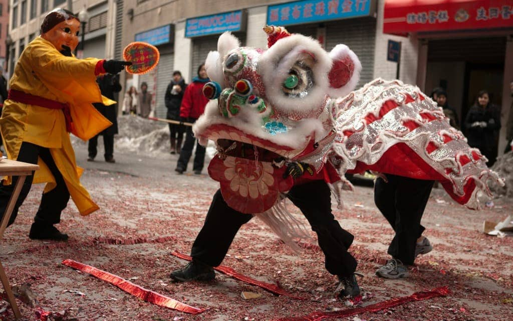 Boston Chinatown Chinese New Year Celebration