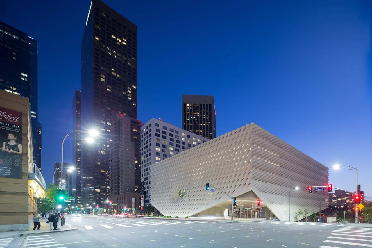 Romantic Los Angeles - The Broad, Downtown LA