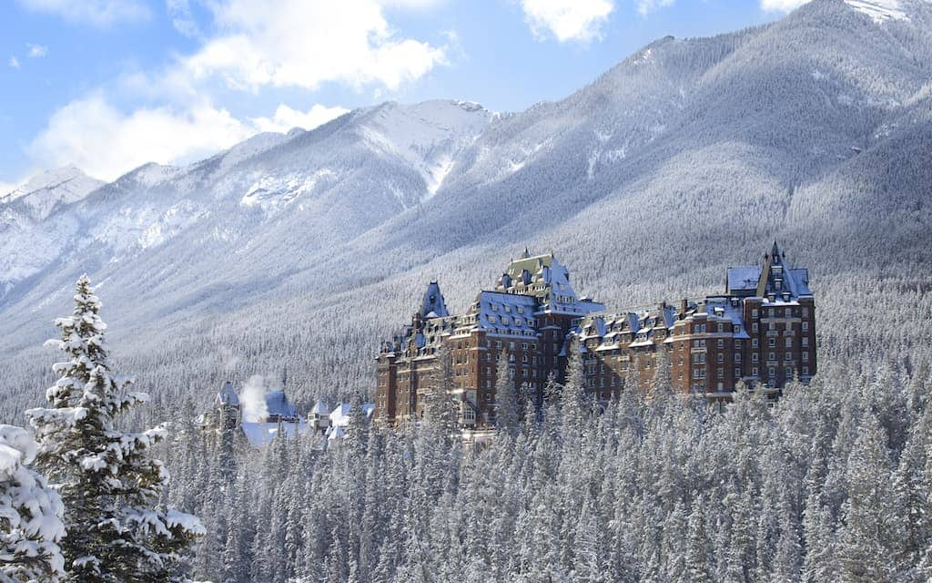 The Fairmont in Banff is one of the best hotels in the world