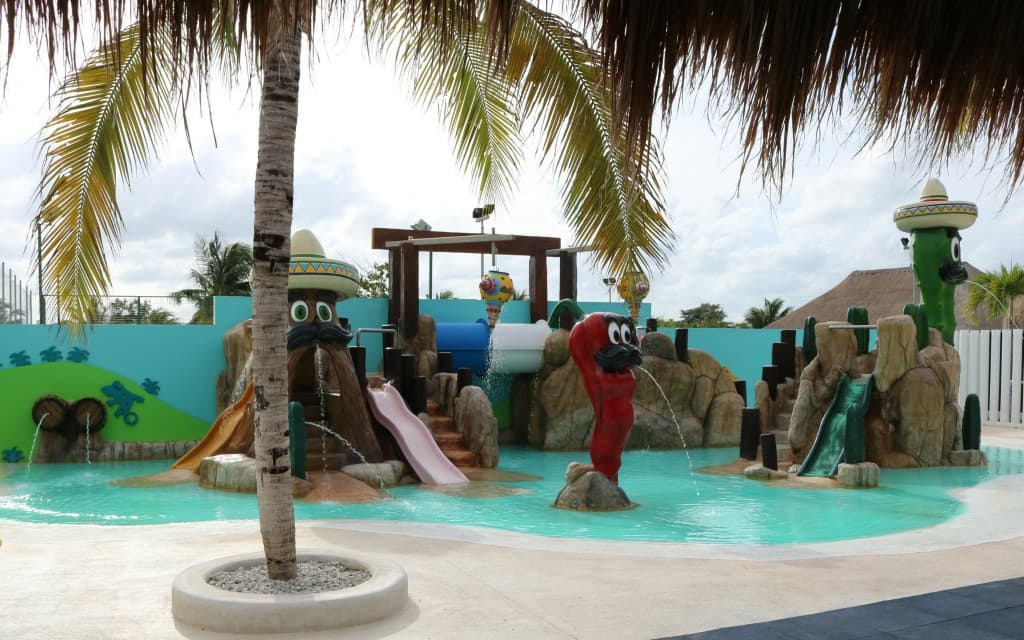 Finest Playa Mujeres is Family Friendly Luxury in Cancun Little Kids Pool - Travelocity