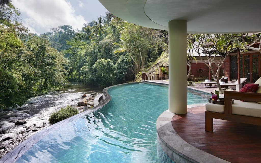 MANDAPA RITZ-CARLTON is one of the best hotels in the world