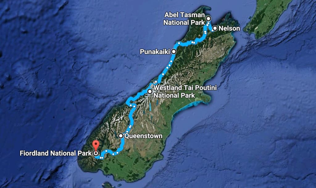 New Zealand Road Trip - HoneyTrek.com
