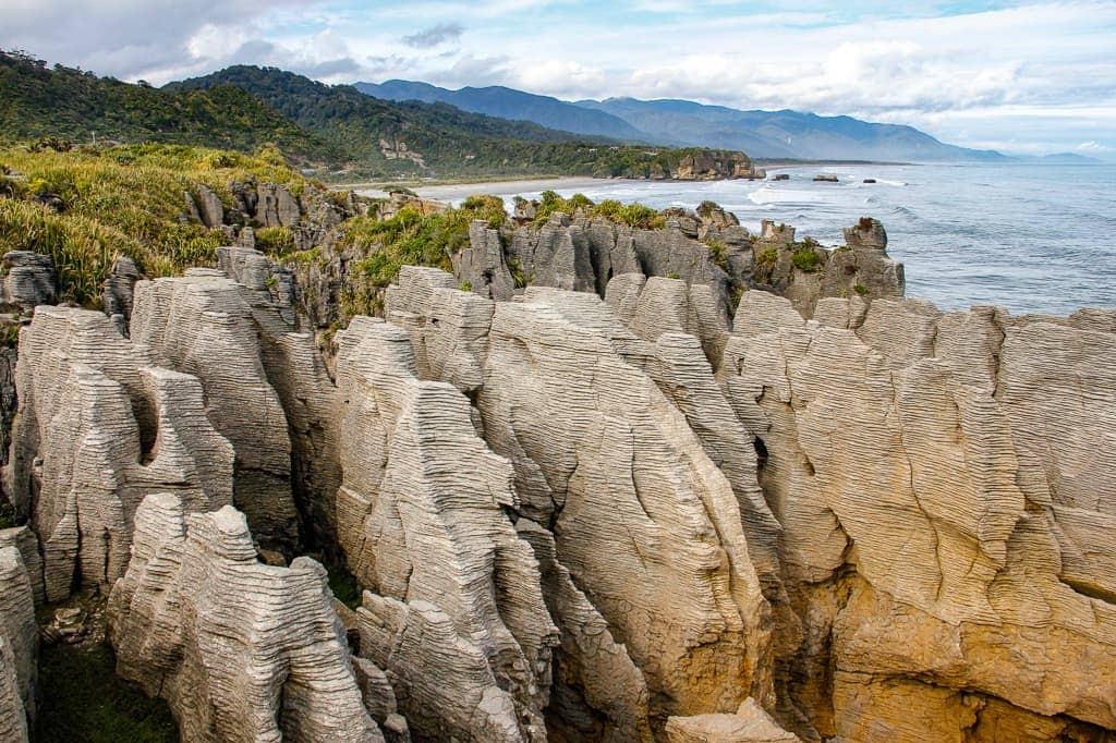 Pancake Rocks, New Zealand - HoneyTrek.com