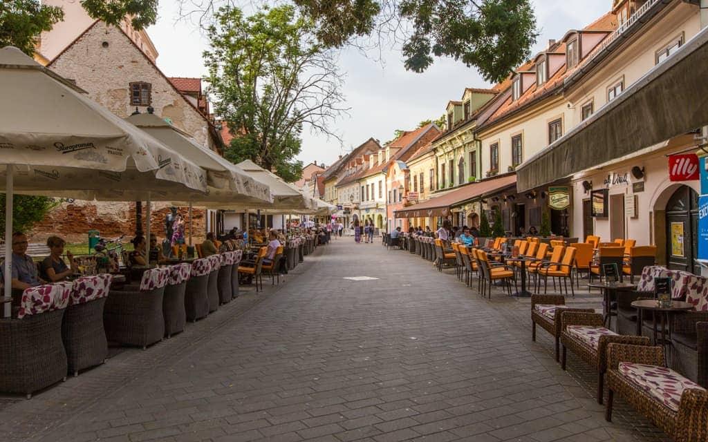Kid-friendly Europe: Zagreb's Tkalciceva Street