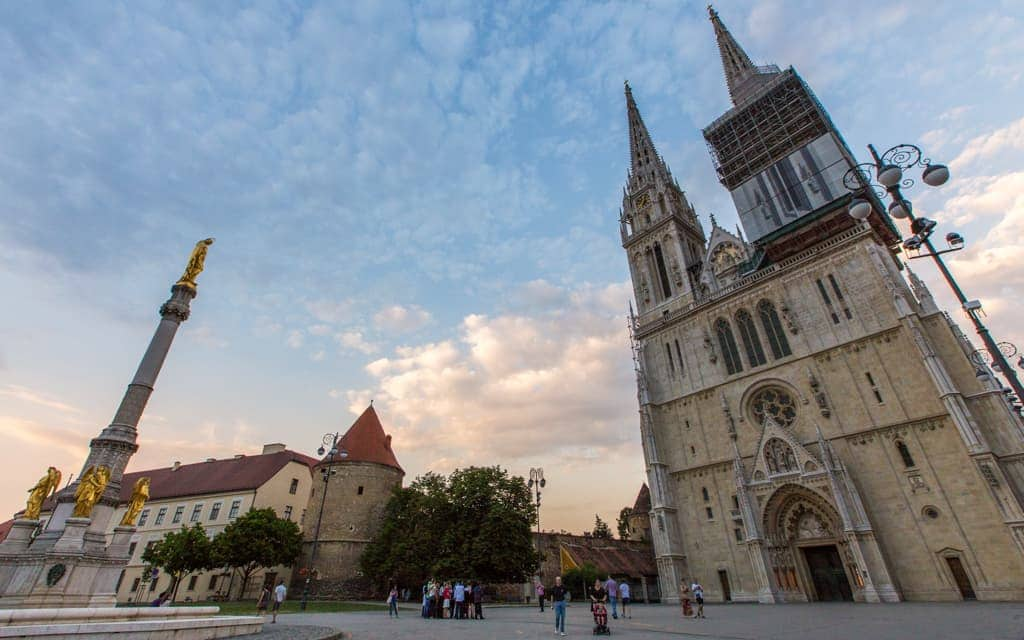 Kid-friendly Europe - Zagreb Cathedral, the tallest building in Croatia
