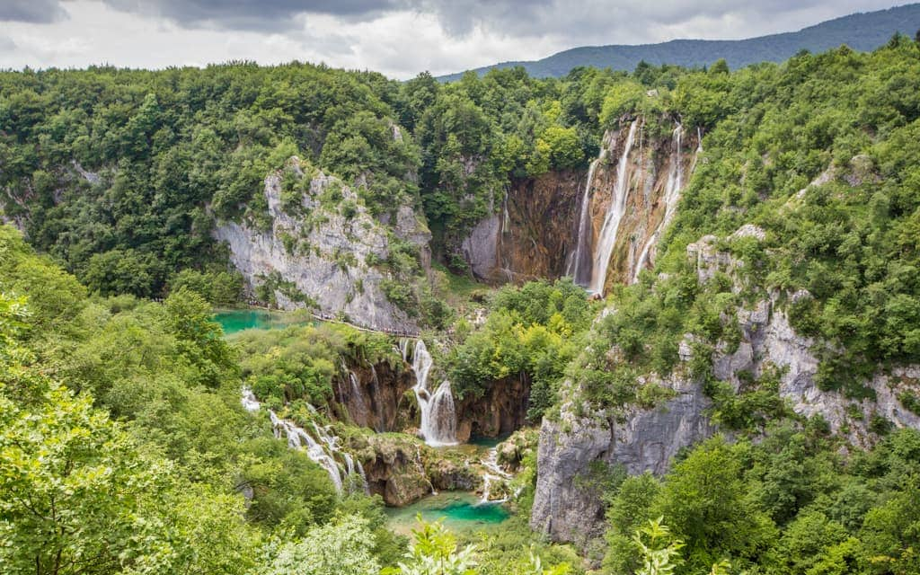 Kid-friendly Europe:Plitvice Lakes National Park from above