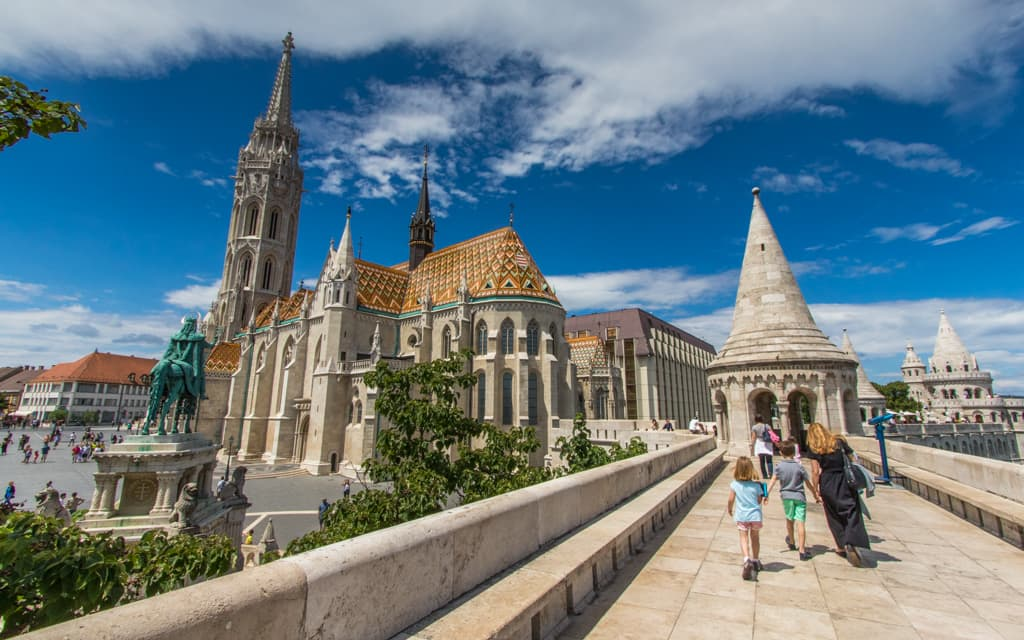 Kid-friendly Europe: Fisherman's Bastion in Budapest