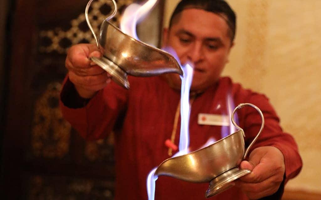 Basmati Indian restaurant at Excellence Playa Mujeres