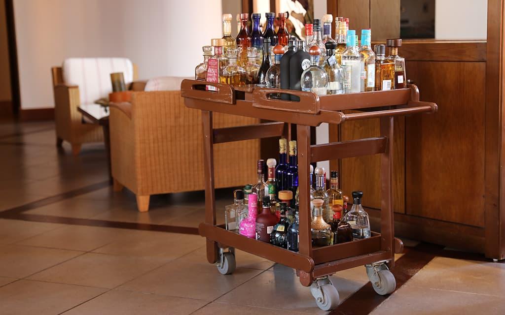 Booze cart