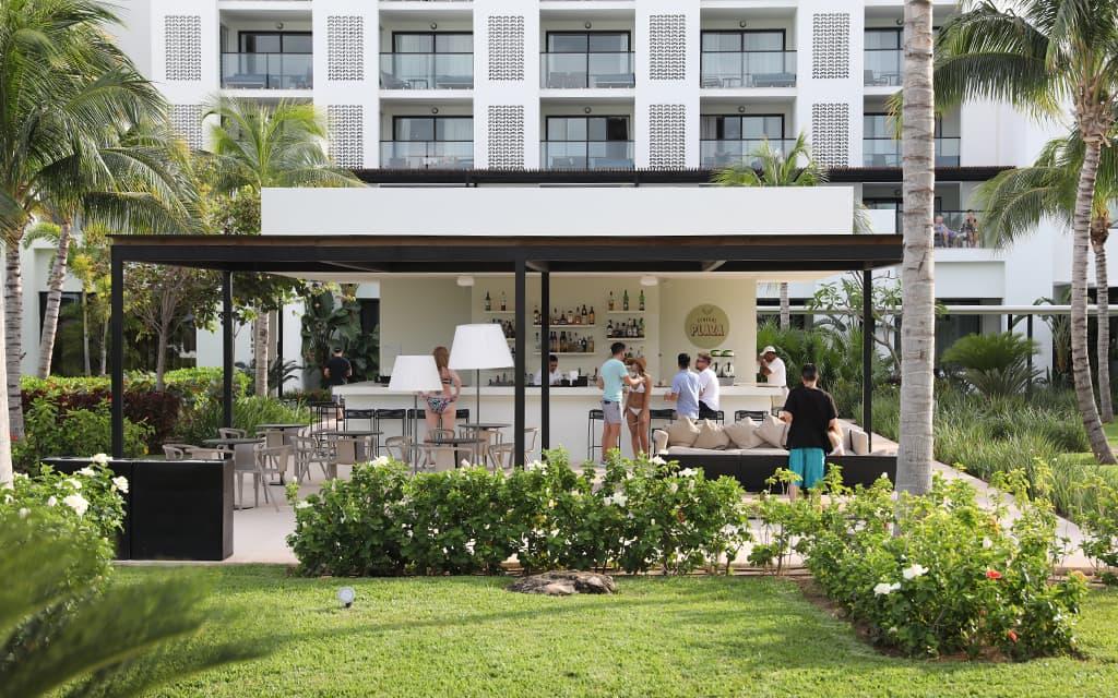 Central Plaza Bar at Finest Playa Mujeres