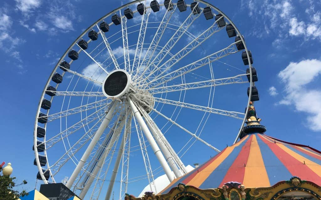 Best-Things-to-Do-in-Chicago-in-the-Summer-Time-Centennial-Wheel-Navy-Pier-Travelocity