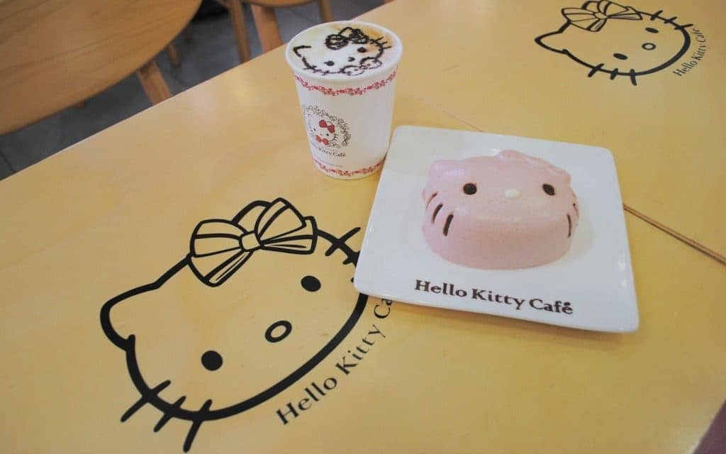 Hello Kitty Cafe in Seoul