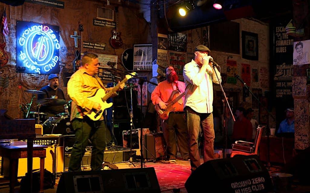 Blues Music Festival in Clarksdale, Mississippi