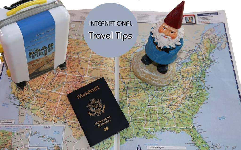 International Travel Tips college
