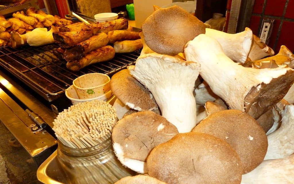 Jioufen farmers markets