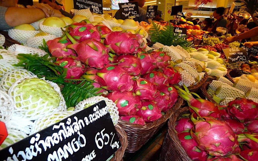 Bangkok farmers markets