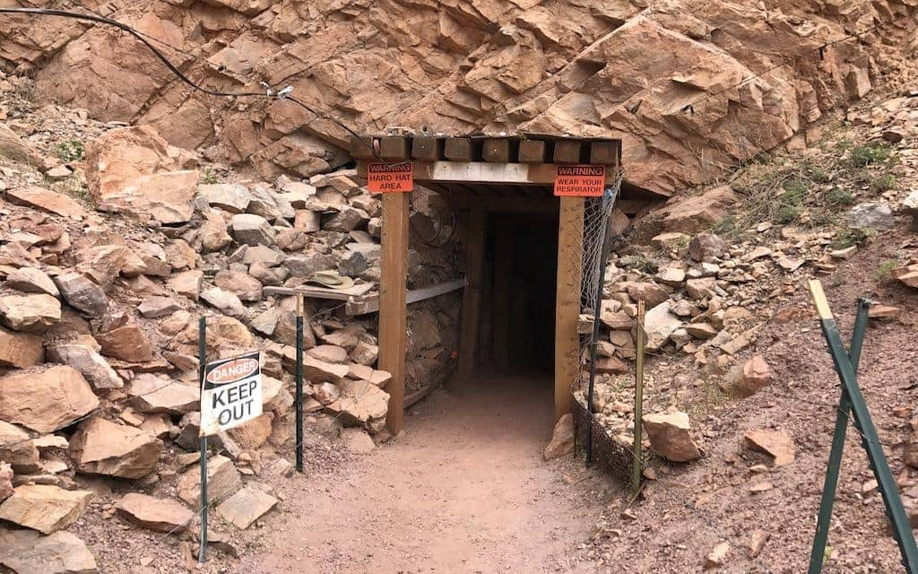 Four Peaks Mine Tour