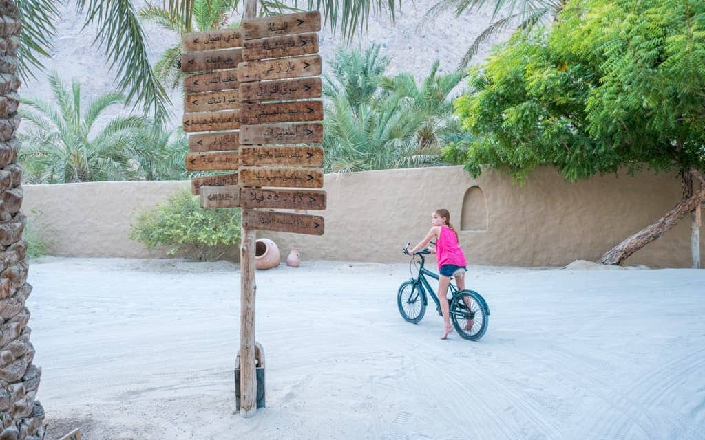 Travel with kids: In Oman on our around-the-world trip (10 years old)