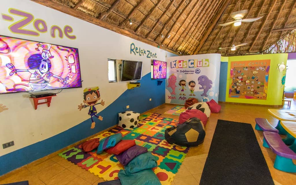 Riviera Maya with Kids - The kids club at Occidental at Xcaret Destination