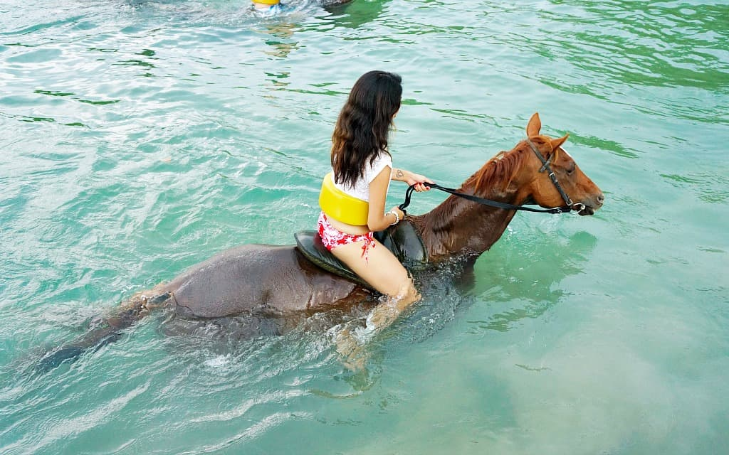 Horseback Ride and Swim in Jamaica