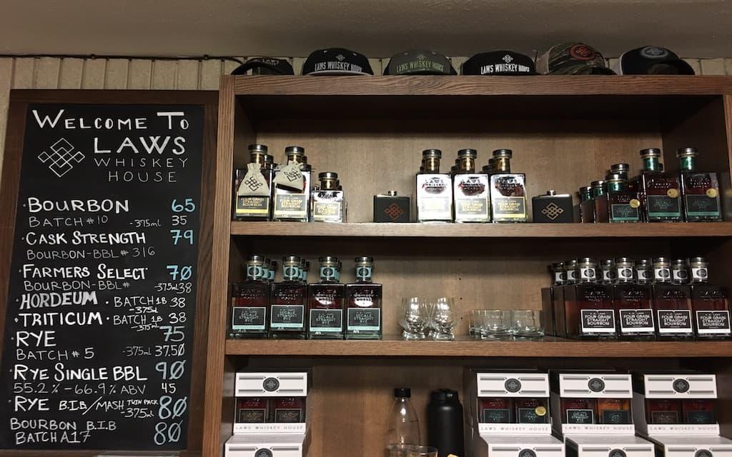 Laws Whiskey House Distillery Tour Denver.
