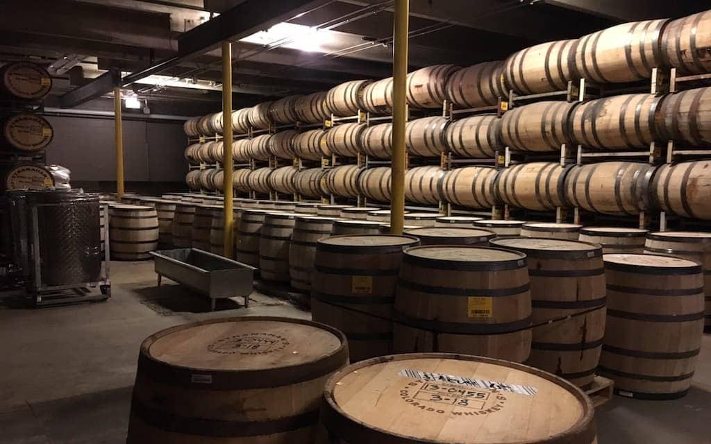 Stranahan's whiskey distillery tour Denver
