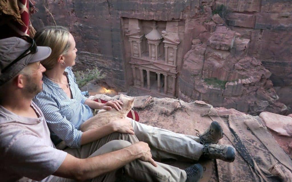 Petra Treasury Cliff Bedouin Cafe