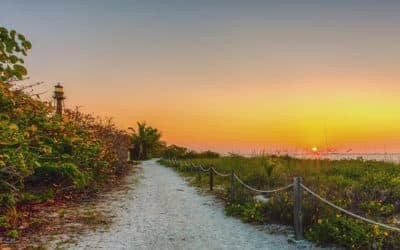 Sun, Sand & Seashells: Roaming Gnome Visits Southwest Florida
