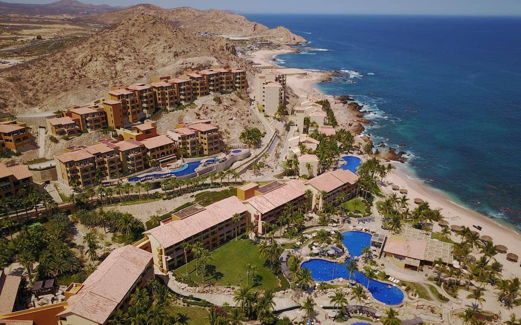 Grand Fiesta Americana Resort in Los Cabos Mexico - Aerial photo by Mike Shubic of MikesRoadTrip.com