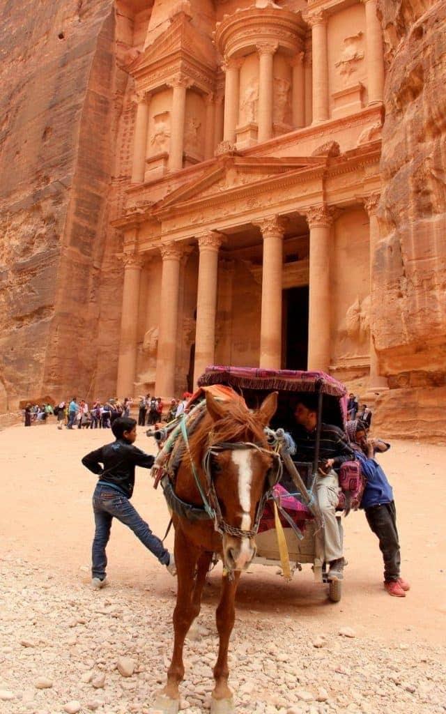 Petra-Treasury-Horse-Carriages