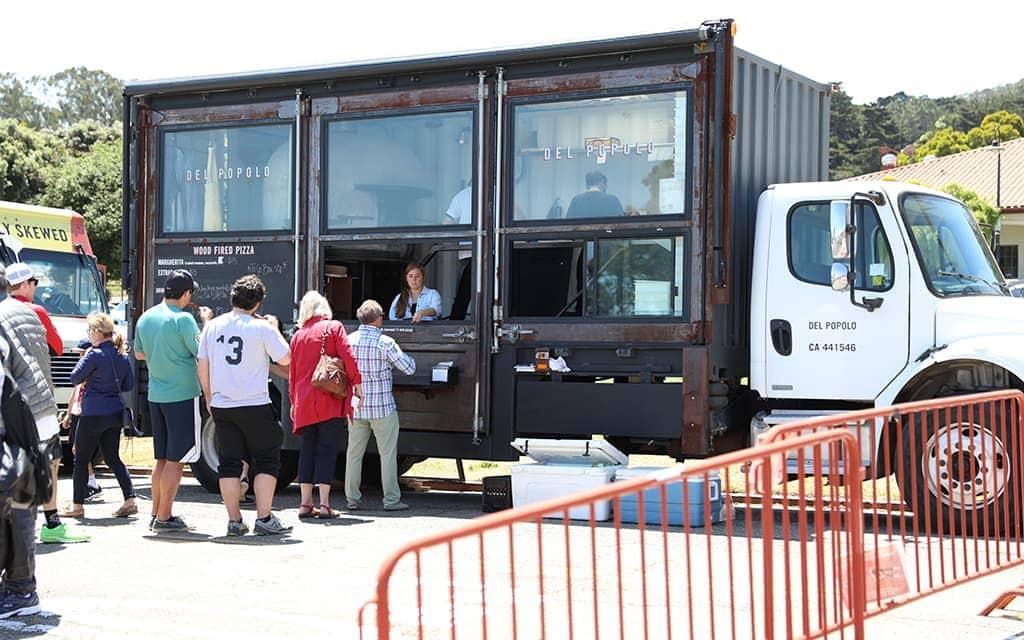 Del Popolo Food Truck at Presidio