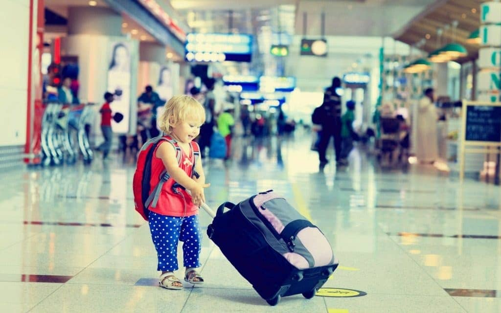 airport layover solutions for kids - walking