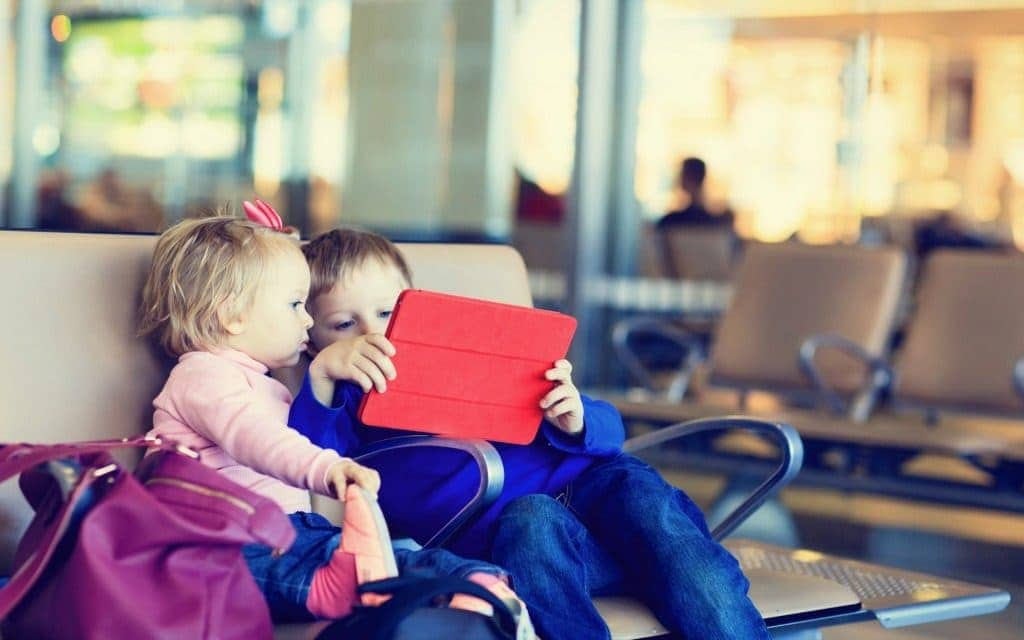airport layover solutions for kids - electronics