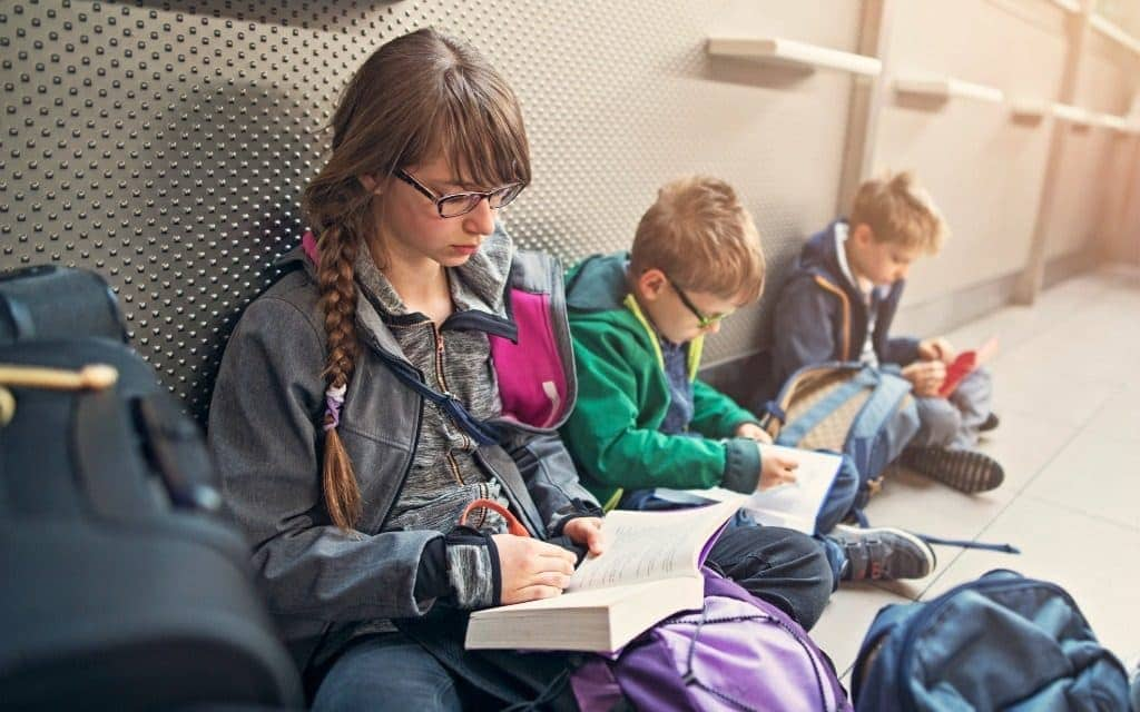 airport layover solutions for kids - reading