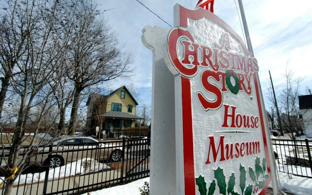 A Christmas Story House and Museum in Cleveland