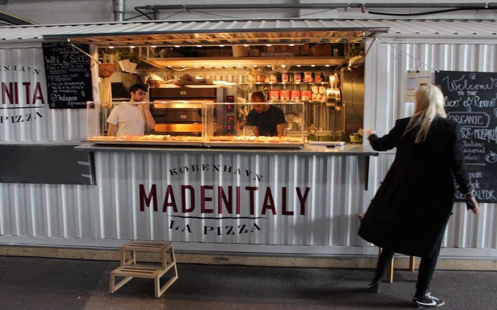 kid-friendly Copenhagen, trying street food