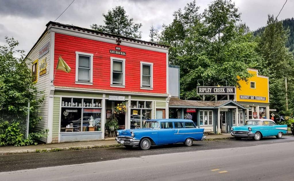 Main Street Stewart, BC