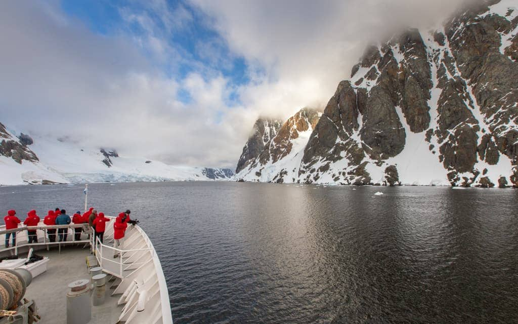 Travel inspiration: Sailing through Antarctica's Lemaire Channel