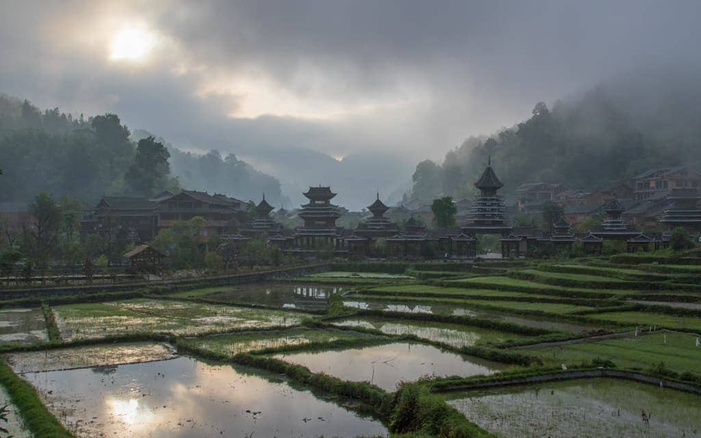 Travel inspiration: Morning in Zhaoxing in China's Guizhou province